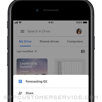 Google Drive iphone image 1