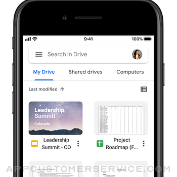 Google Drive iphone image 4