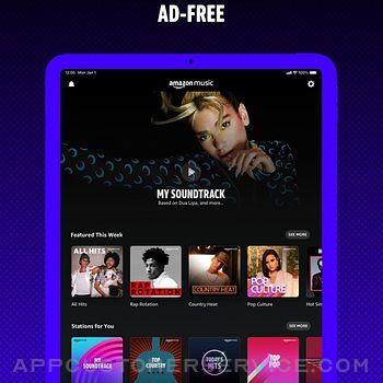 Amazon Music: Songs & Podcasts ipad image 1