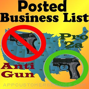 Posted! - List Pro & Anti-Gun Customer Service