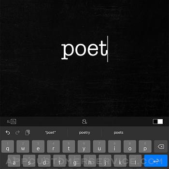 Poetics ipad image 3
