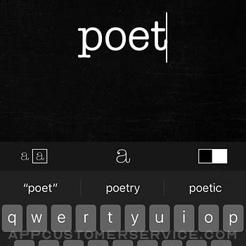 Poetics iphone image 3