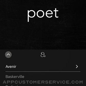 Poetics iphone image 4