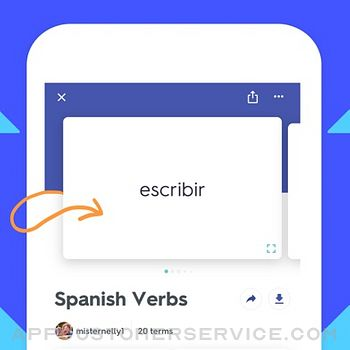Quizlet: Learn with Flashcards iphone image 1