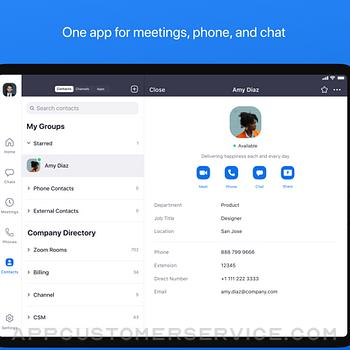 ZOOM Cloud Meetings ipad image 1