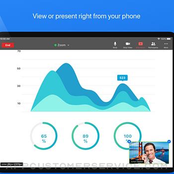 ZOOM Cloud Meetings ipad image 3