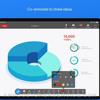 ZOOM Cloud Meetings ipad image 4