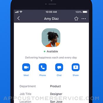 ZOOM Cloud Meetings iphone image 1