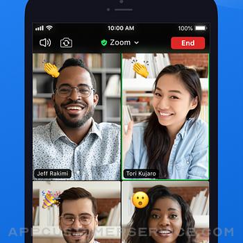 ZOOM Cloud Meetings iphone image 2