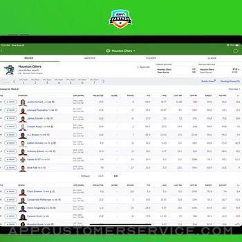 ESPN Fantasy Sports & More ipad image 1