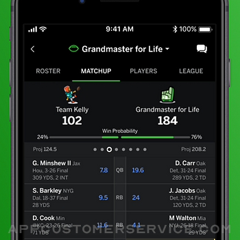 ESPN Fantasy Sports & More iphone image 4