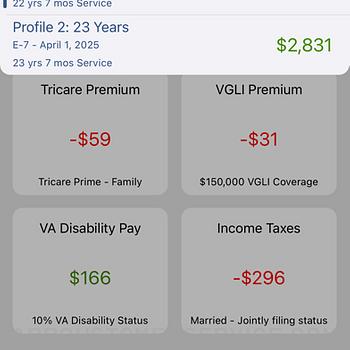 Military Retirement iphone image 2