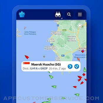 MarineTraffic - Ship Tracking iphone image 1