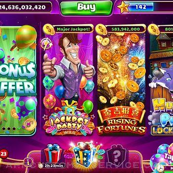 Jackpot Party - Casino Slots ipad image 1