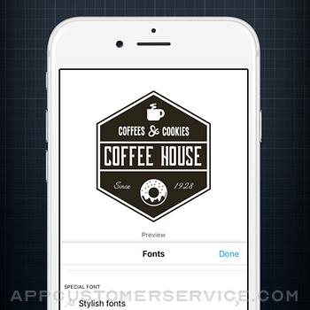 Logo Creator. iphone image 2