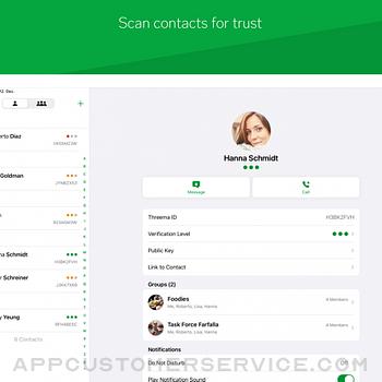 Threema. The Secure Messenger ipad image 3