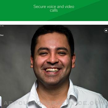 Threema. The Secure Messenger ipad image 4