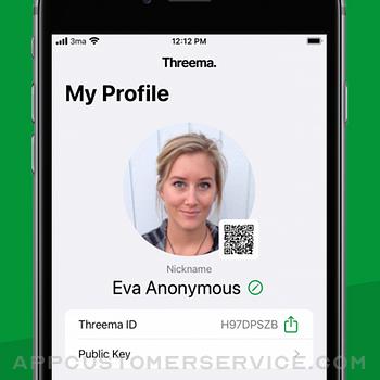 Threema. The Secure Messenger iphone image 3