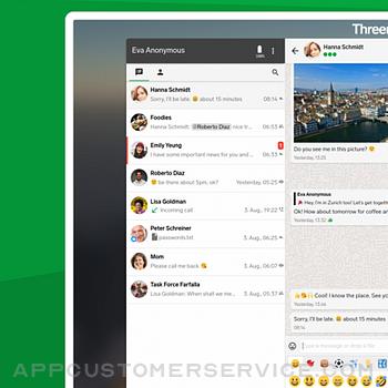 Threema. The Secure Messenger iphone image 4