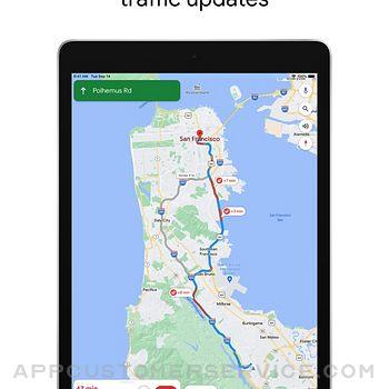 Google Maps ipad image 1
