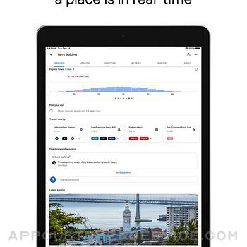 Google Maps ipad image 3