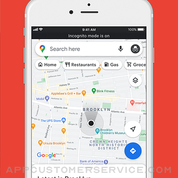 Google Maps iphone image 2