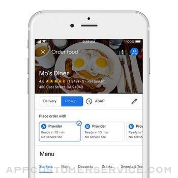 Google Maps iphone image 3