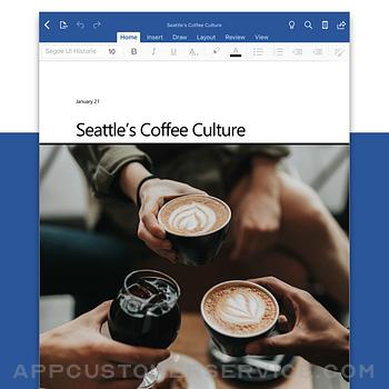 Microsoft Word ipad image 1