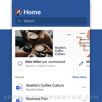 Microsoft Word iphone image 1