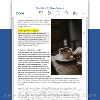 Microsoft Word iphone image 2