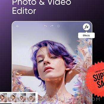 Picsart Photo & Video Editor ipad image 1
