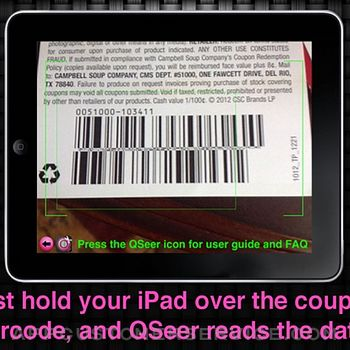 QSeer Coupon Reader ipad image 2