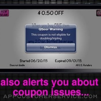QSeer Coupon Reader iphone image 3