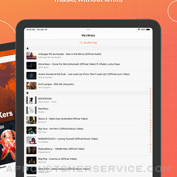 Musi - Simple Music Streaming ipad image 2