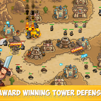Kingdom Rush Frontiers TD iphone image 1