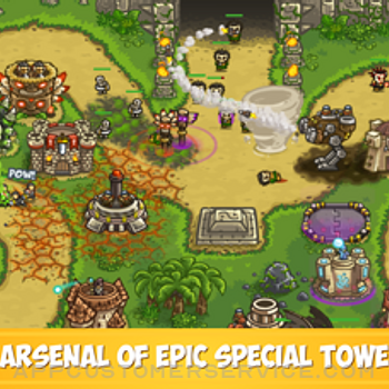 Kingdom Rush Frontiers TD iphone image 4