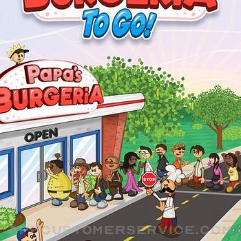Papa's Burgeria To Go! iphone image 1