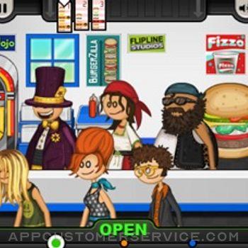 Papa's Burgeria To Go! iphone image 2