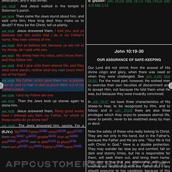 E-Sword LT: Bible Study to Go ipad image 1