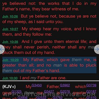 E-Sword LT: Bible Study to Go iphone image 1