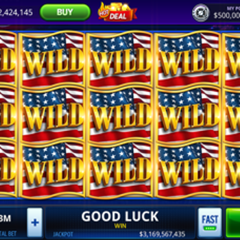 DoubleU Casino: Vegas Slots iphone image 1
