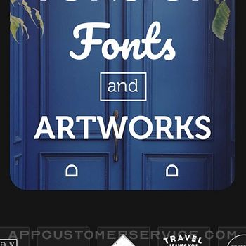 Font Candy Photo & Text Editor iphone image 2