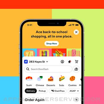 DoorDash - Food Delivery iphone image 2