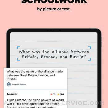 Brainly – Homework Help App ipad image 3