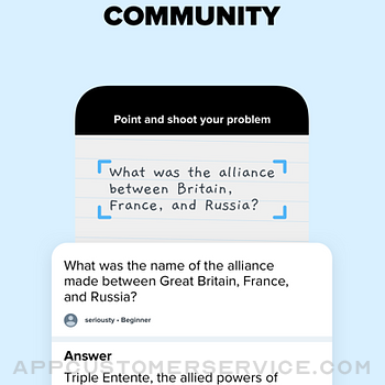 Brainly – Homework Help App iphone image 4