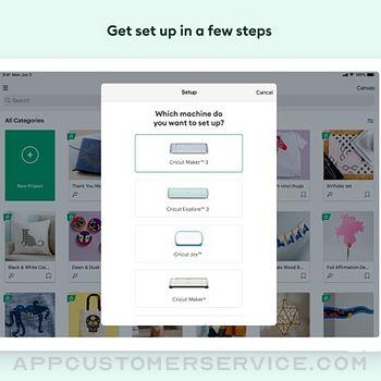 Cricut Design Space ipad image 3