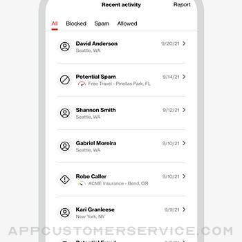 Verizon Call Filter iphone image 4