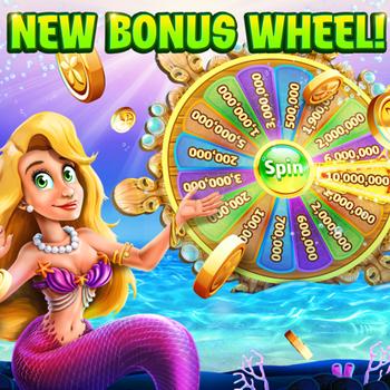 Gold Fish Casino Slots Games ipad image 1