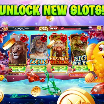 Gold Fish Casino Slots Games ipad image 2