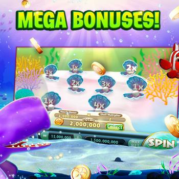 Gold Fish Casino Slots Games ipad image 3